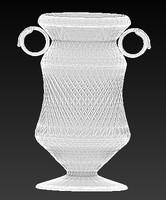 3d model of ampir vase