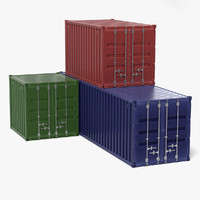 3ds cargo containers
