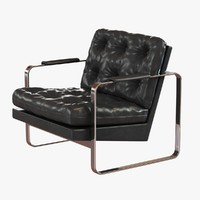 3ds chair lounge milo baughman