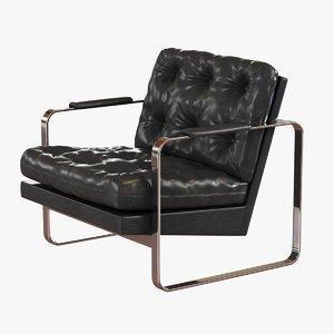 3ds chair lounge milo baughman