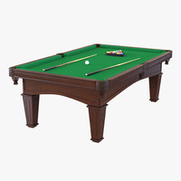 Billiard Table 2 3D Model