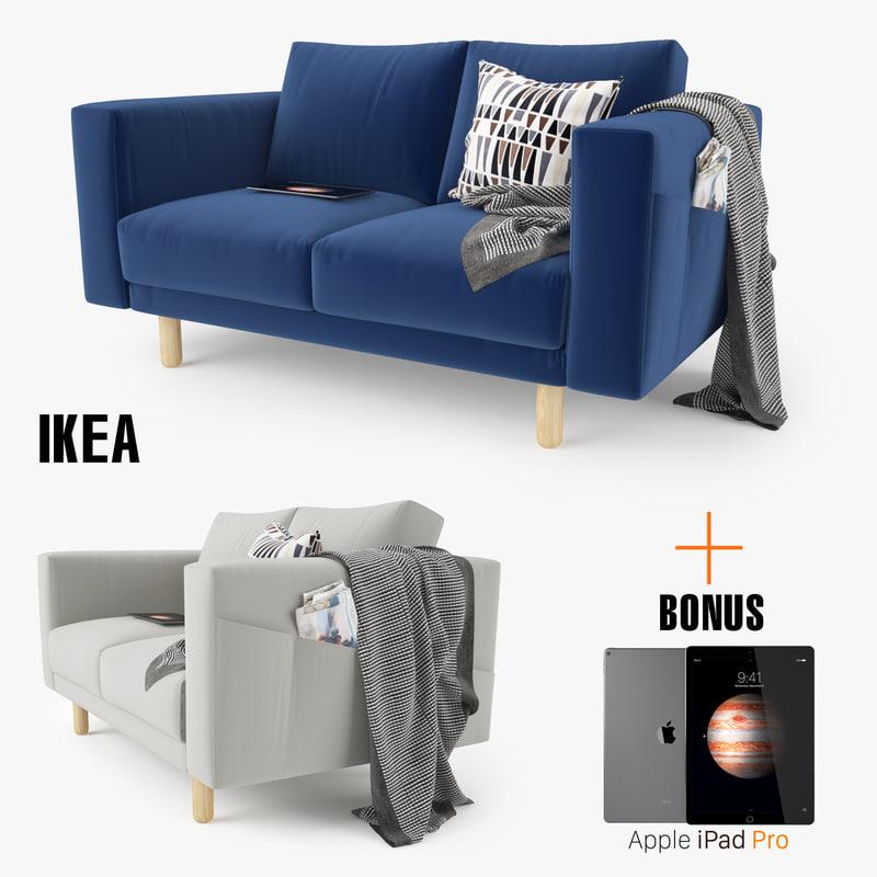 ikea morsborg loveseat sofa seat max