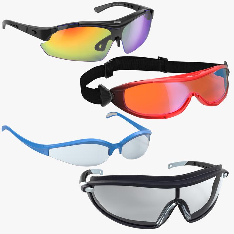 3d sport glasses 2