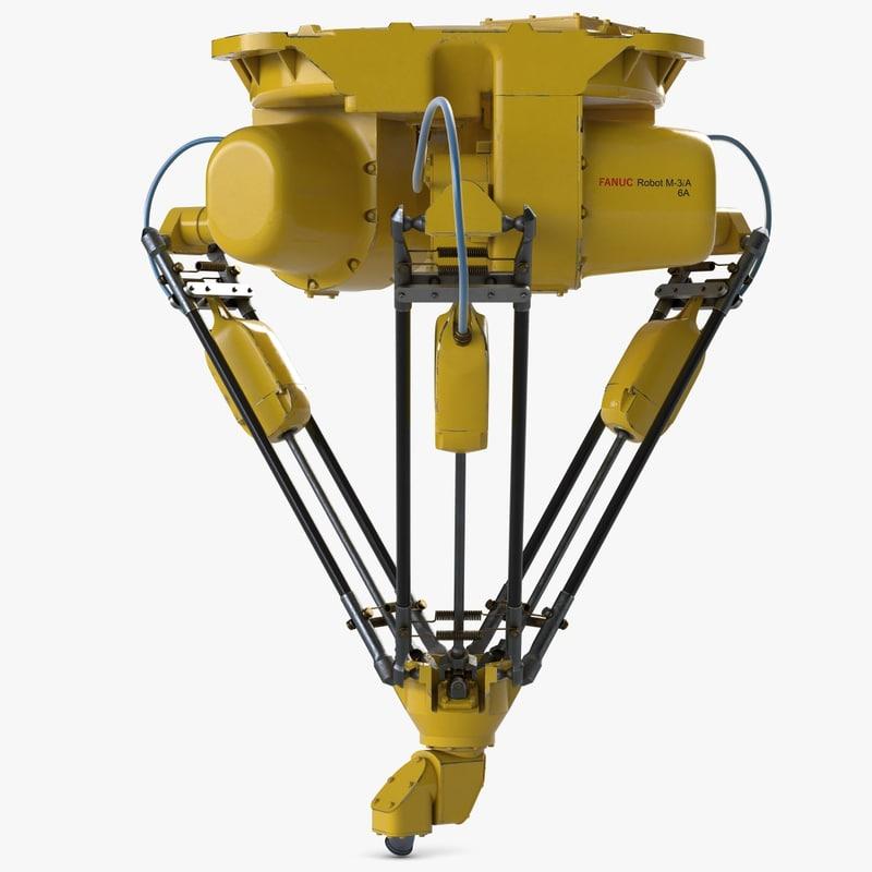 delta robot m3ia 3ds