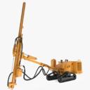 Mobile Drill 3D models