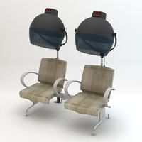 doble hair dry chair dxf