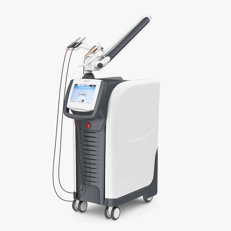 dental laser lightwalker 3d obj