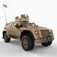 ctv combat tactical vehicle 3d model