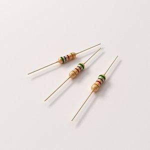 3dsmax resistor parts