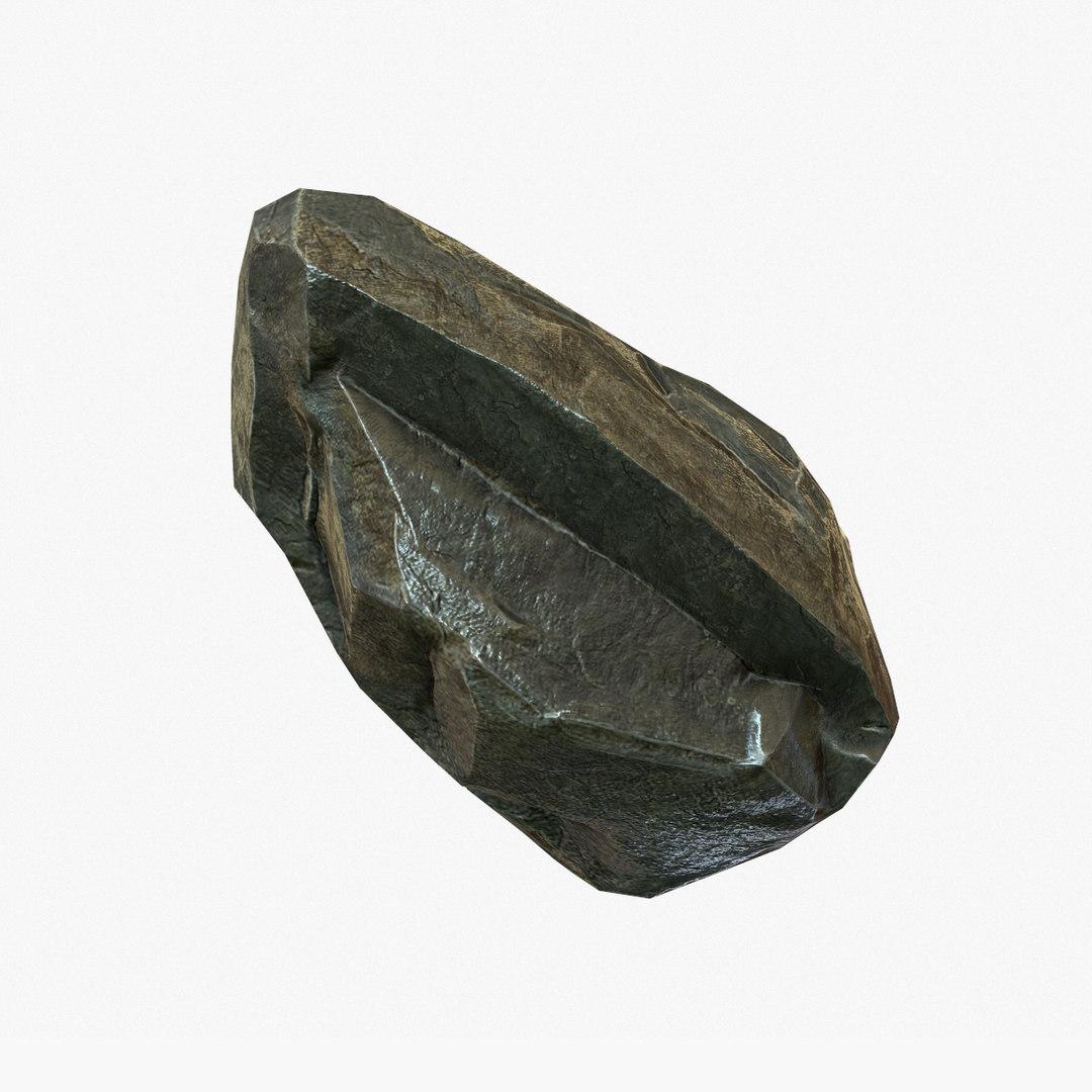 small stone 3d max
