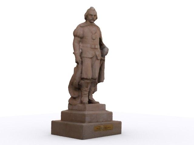 colonial statue salvador correia x