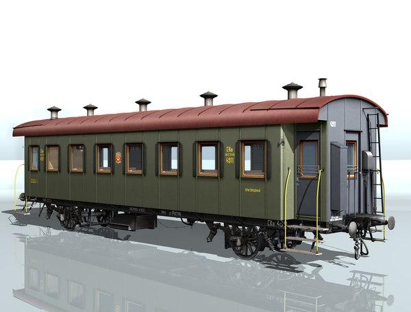2-axles passenger wagon max