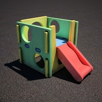 child playplace 3d model