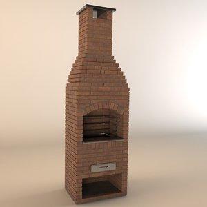 3dsmax grill barbecue
