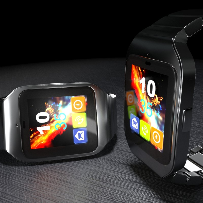 3ds max smart watch smartwatch