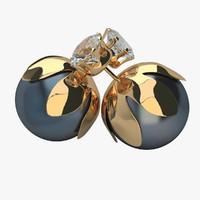 earrings p 3d max