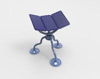 solar panel 3d fbx