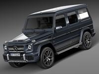 3d 2016 mercedes-benz amg model