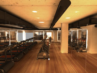 3ds max fitness center
