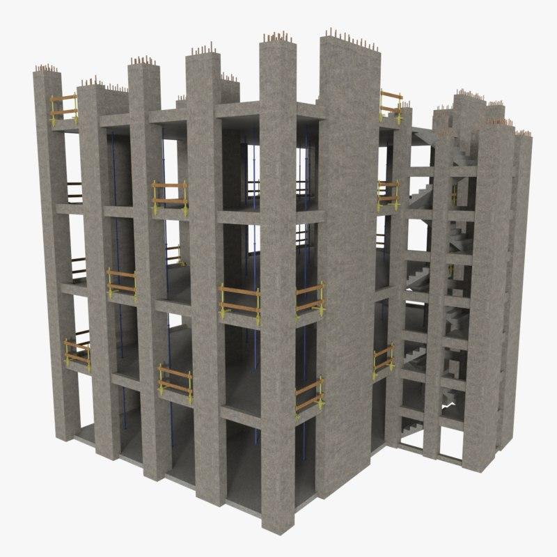 construction site 3ds