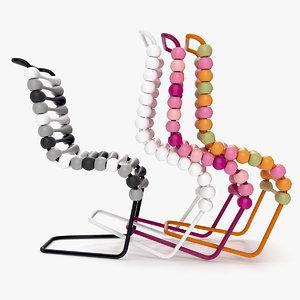 bounce chair 3d model
