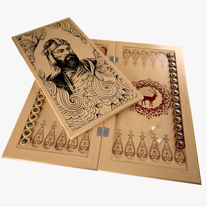 max backgammon board checkers