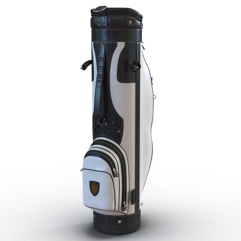 golf bag 3 black 3ds