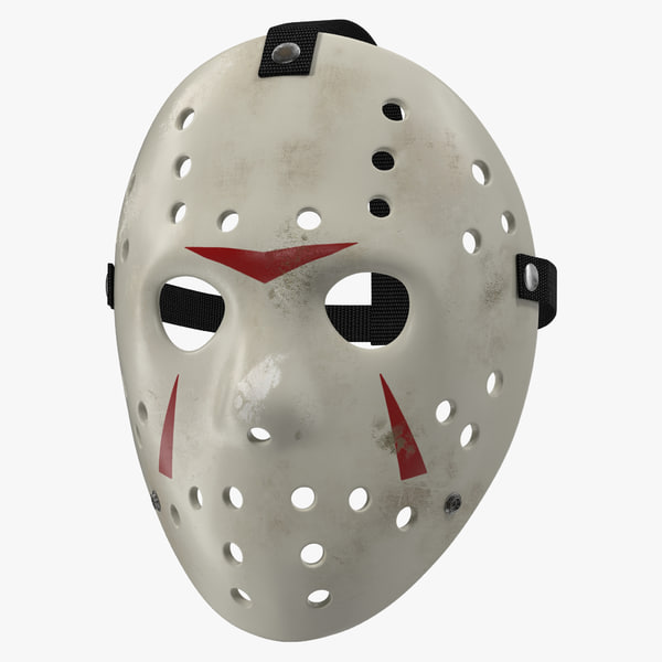 hockey mask 5 c4d