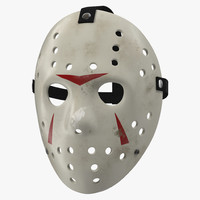 hockey mask 5 3d c4d