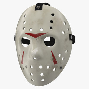hockey mask 5 c4d