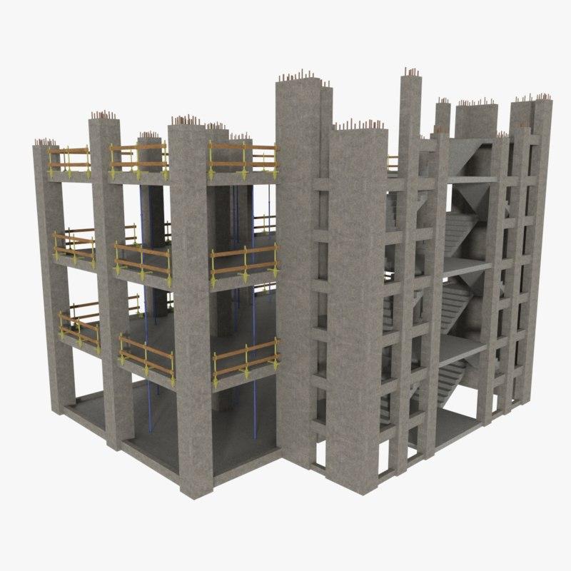 3ds construction site