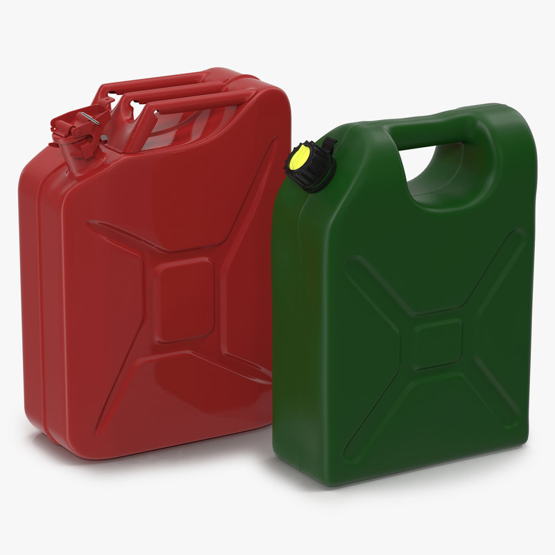 max gas cans modeled