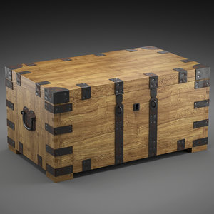 chest-coffee table 3d model