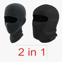 3d model swat face masks