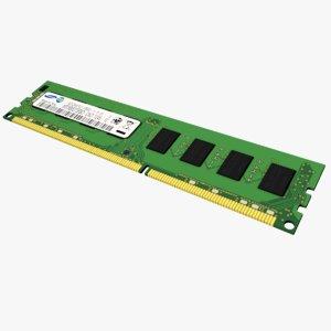 3d model ddr3 ram dimm