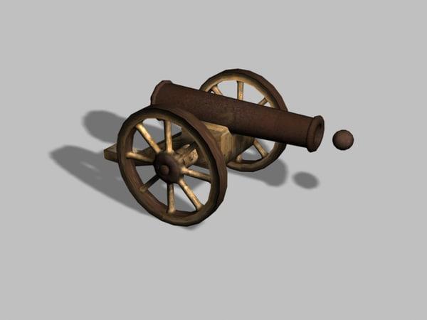 old cannon unity 3d fbx