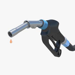 3d model gas nozzle