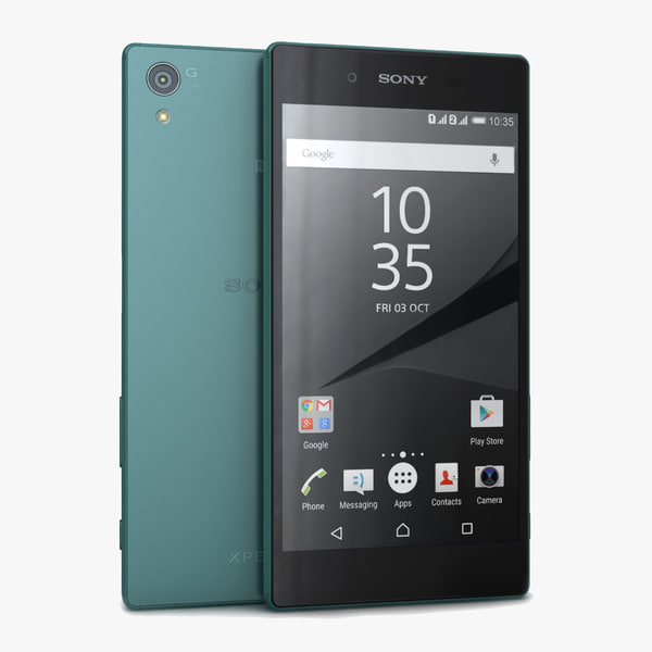 3d max sony xperia z5 green