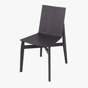 3d molteni chair model