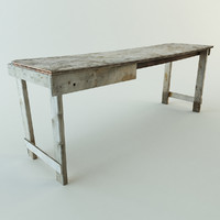 Old Workbench Table