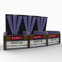 3d model theater marquis