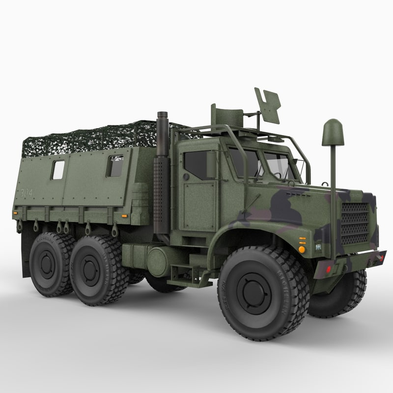 mk 23 mtvr army 3d 3ds