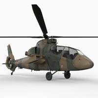 3d model kawasaki oh-1 ninja