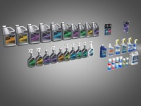 thetford protect products 3d model