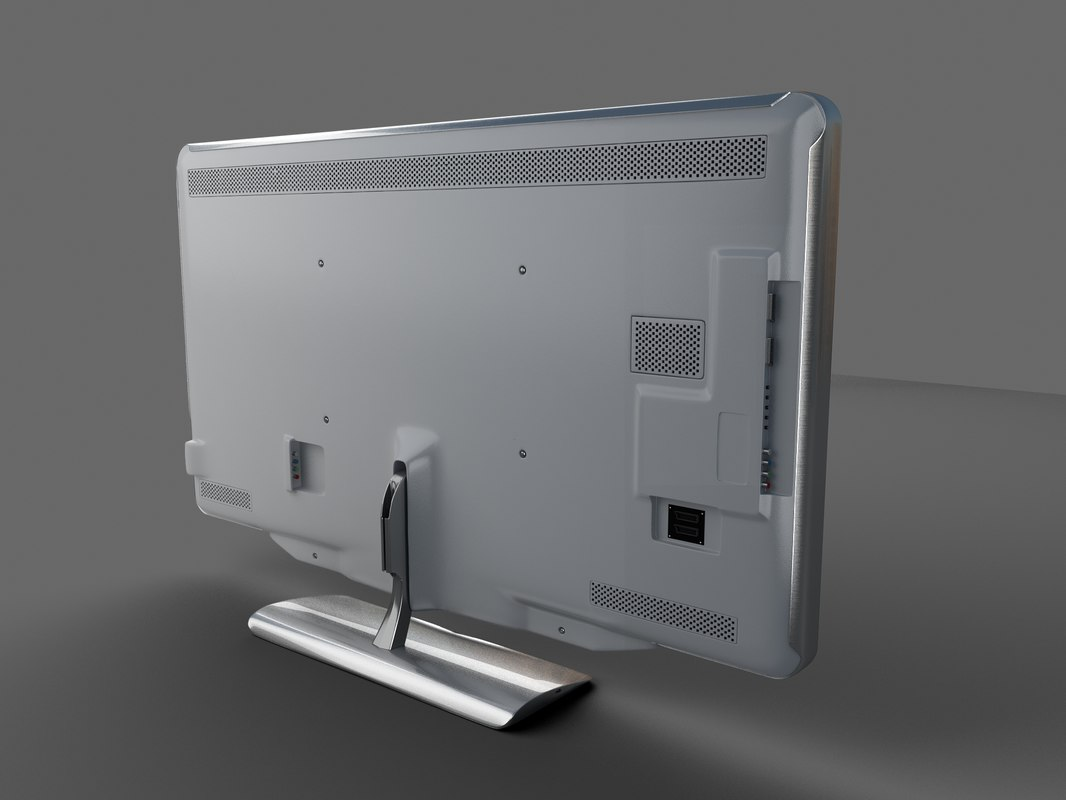 3ds max tv led philips