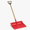 snow shovel 3D models