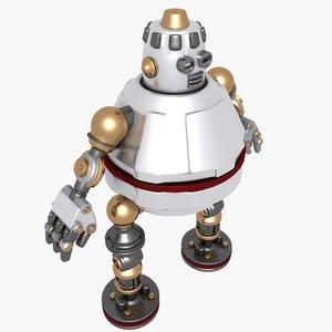 fat robot 3ds