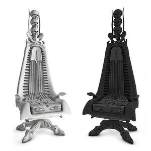 3d set harkonnen capo chair model