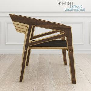stephanie lounge chair modern living max