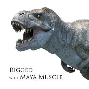 t rex muscle ma
